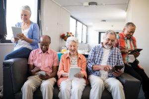 Aged care device sanitisation